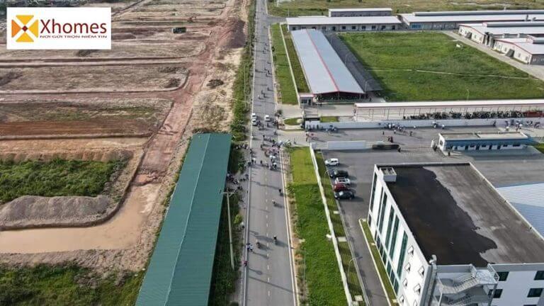 Hình ảnh thực tế dự án đất nền Nam Thắng Residence Chí Linh Hải Dương