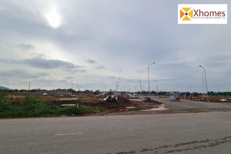 Hình ảnh thực tế dự án KĐT Hoàng Long Bích Động Bắc Giang