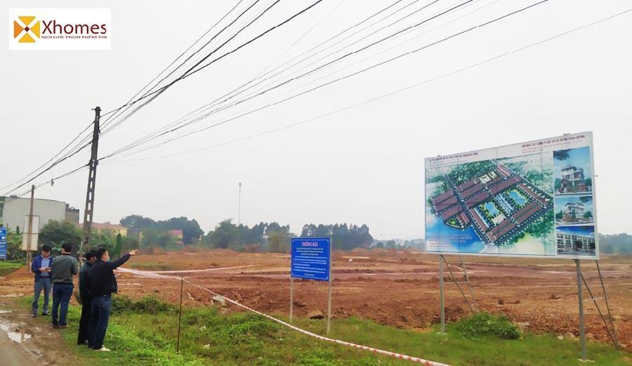 """Vị trí """"Vàng"""" của dự án KĐT mới Đông Bắc Bích Động"""