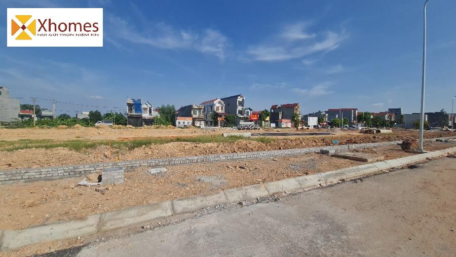 Hình ảnh thực tế dự án KĐT mới Đông Bắc Bích Động Bắc Giang