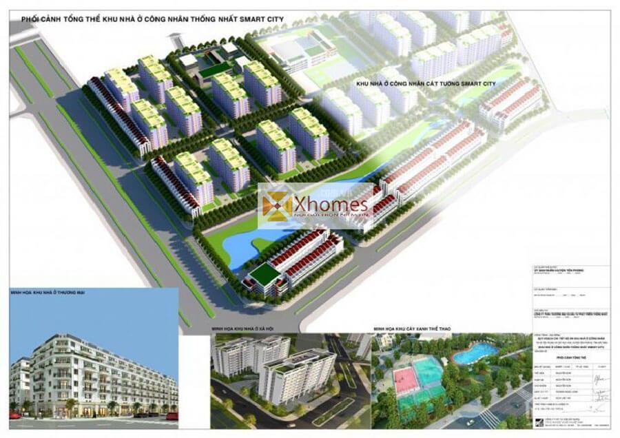 Giới thiệu sơ lược dự án khu nhà ở xã hội Thông Nhất Smart City