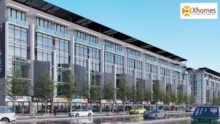 Shophouse liền kề dự án khu nhà ở xã hội Thông Nhất Smart City