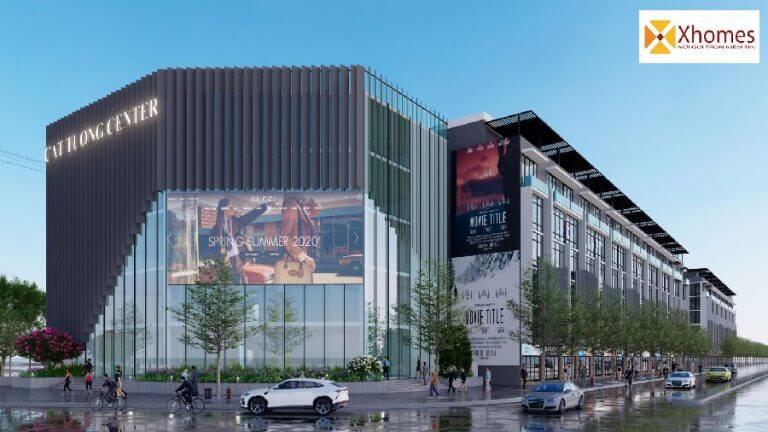 Trung tâm thương mại dự án khu nhà ở xã hội Thông Nhất Smart City Yên Phong