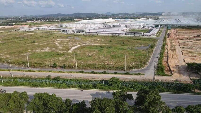 Hình ảnh thực tế của dự án KĐT mới phía Đông Chí Linh Hải Dương