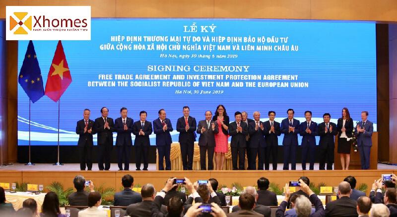 Cộng hưởng bởi Hiệp Định EVFTA sẽ giúp cho Bất Động Sản Việt Nam tăng trưởng mạnh
