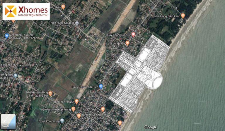 Vị trí dự án Hùng Sơn Villa Sầm Sơn Thanh Hóa