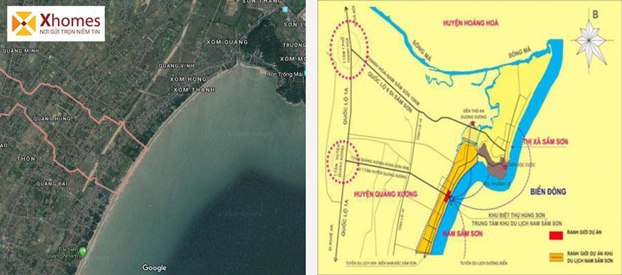 Liên kế vùng dự án Biệt thự cao cấp Hùng Sơn Villa