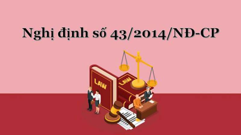 Theo Điều 41 của Nghị định 43/2014/NĐ-CP ngày 15/05/2014