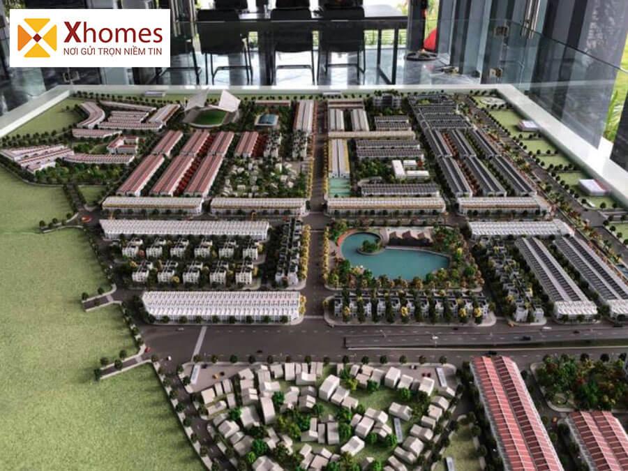 Sơ đồ mô hình của Khu đô thị Rùa Vàng City