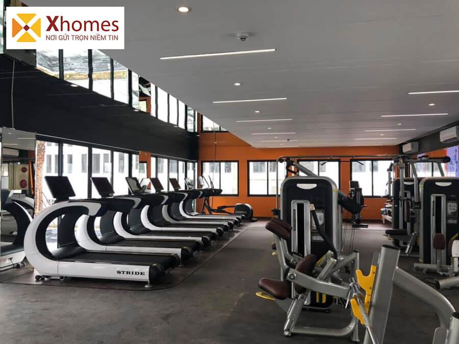 Phòng tập thể dục đa năng tại Dự án Khu Đô Thị Rùa Vàng City