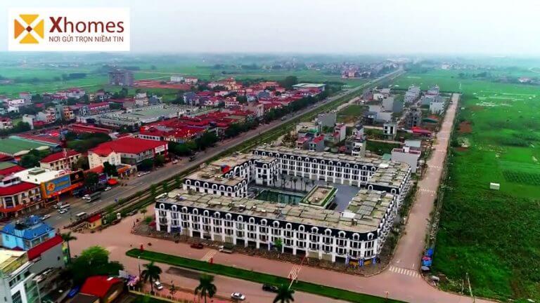 Hình ảnh thực tế được chụp lại từ dự án khu đô thị Rùa Vàng City từ Xhomes