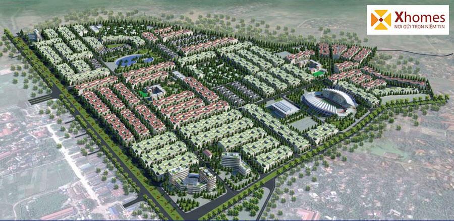 Giới thiệu dự án Khu đô thị Rùa Vàng City Bắc Giang
