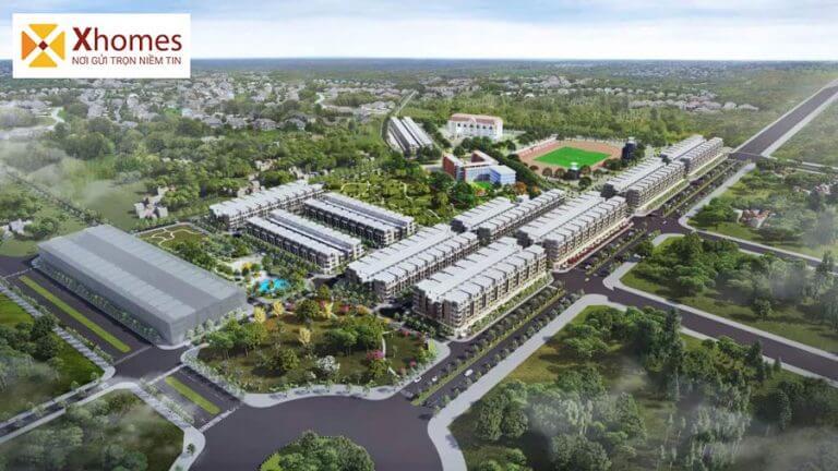 Khu đô thị Vườn Sen Từ Sơn Bắc Ninh