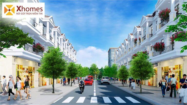 Cơ sở hạ tầng của dự án DTA Garden House VSIP Từ Sơn Bắc Ninh