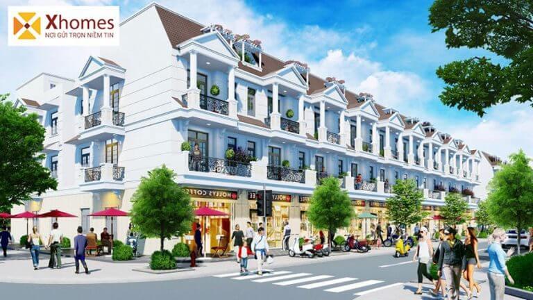 Phối cảnh dự án DTA Garden House VSIP Từ Sơn Bắc Ninh
