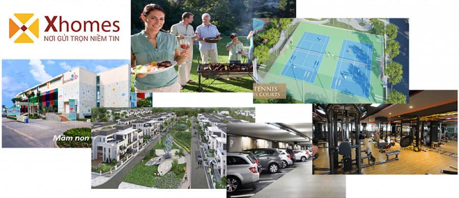 Tổ hợp tiện ích dự án DTA Garden House VSIP Từ Sơn Bắc Ninh