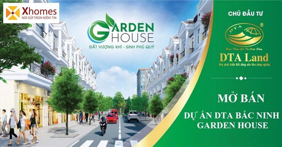 Giới thiệu dự án KĐT DTA Garden House VSIP Từ Sơn Bắc Ninh