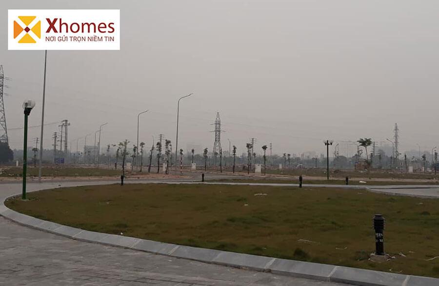 Hình ảnh thực tế của dự án khu đô thị Dĩnh Trì Bắc Giang