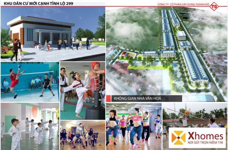 Khu liên hiệp thể dục, thể thao đa chức năng tại dự án Dĩnh Trì Bắc Giang