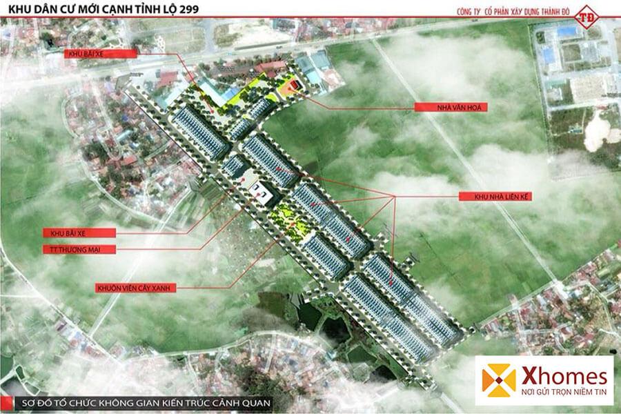 Liên kết vùng của dự án KĐT Dĩnh Trì Bắc Giang
