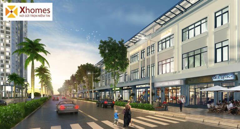 Shophouse dự án khu nhà ở công nhân và thương mại KCN Yên Phong