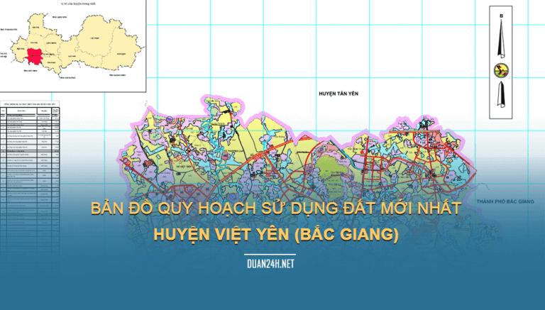 Quy hoạch huyện Việt Yên tỉnh Bắc Giang