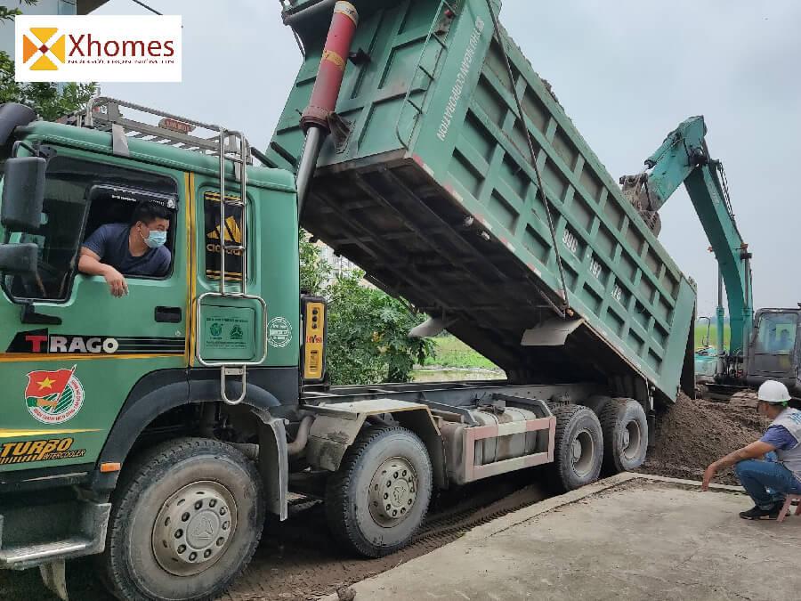 Hình ảnh xây dựng thực tế tại KCN Yên Phong Bắc Ninh