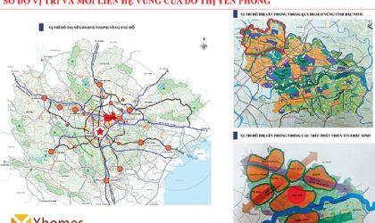 Sơ đồ quy hoạch bất động sản huyện Yên Phong Bắc Ninh