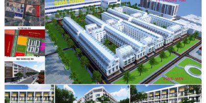 Phối cảnh tổng thể Khu đô thị Trung Lạc Yên Phong Bắc Ninh