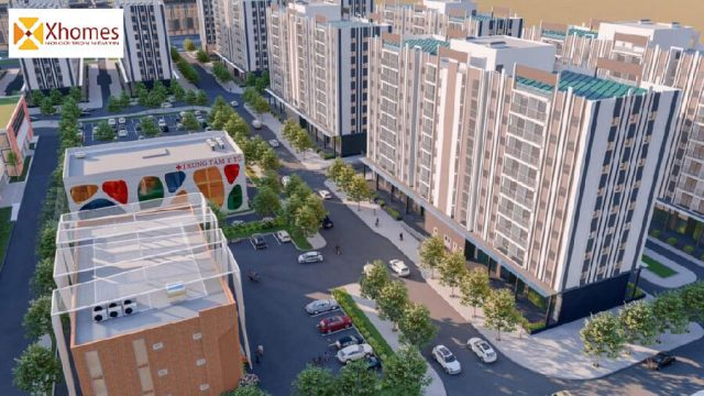 Tiện ích nội khu dự án khu nhà ở xã hội Thông Nhất Smart City
