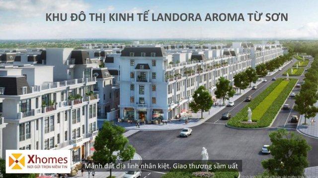 Tổng quan về dự án Landora Aroma tại Từ Sơn Bắc Ninh