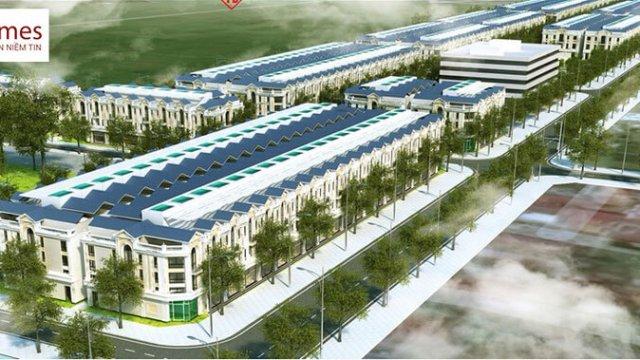 Phối cảnh dự án khu đô thị Dĩnh Trì Bắc Giang