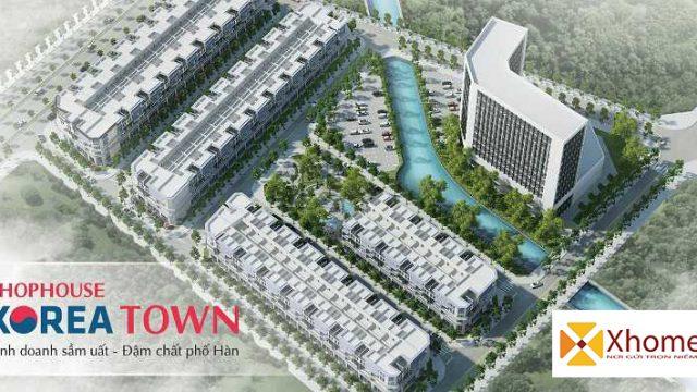 Phối cảnh về dự án Korea Town Yên Phong