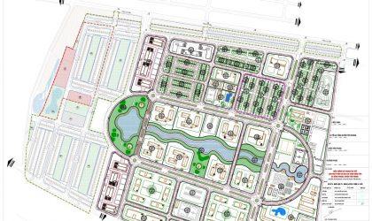 Hình ảnh phân lô về dự án Đất Nền tại Yên Phong Bắc Ninh