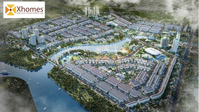 Phối cảnh tổng thể dự án Hoàng Long Bích Động Việt Yên